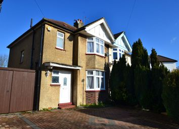 Thumbnail 3 bedroom semi-detached house to rent in Kingsmead Avenue, Tolworth, Surbiton
