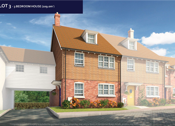 Thumbnail 3 bed link-detached house for sale in Maidstone Road, Headcorn, Ashford, Kent