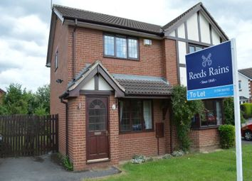 Thumbnail 2 bed semi-detached house to rent in Boundary Walk, Brinsworth, Rotherham
