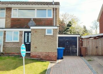 Thumbnail 3 bed semi-detached house for sale in Redwood Drive, Burntwood