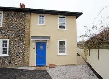 Thumbnail 2 bed semi-detached house to rent in Mill Hill, Newmarket