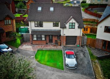 Thumbnail 4 bed property for sale in Ogilvie Court, Deri, Bargoed