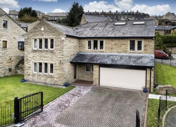 Thumbnail 5 bed detached house for sale in Forge House, 3 Excelsior Close, Ripponden