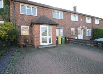 Thumbnail 3 bed terraced house for sale in Cotswold Avenue, Bushey