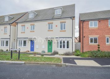 Thumbnail 4 bed semi-detached house for sale in Jupiter Avenue, Cardea, Peterborough