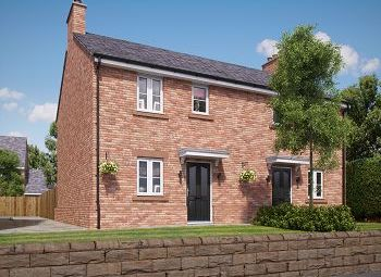 Thumbnail 3 bed semi-detached house for sale in Church View, Church Street, Davenham