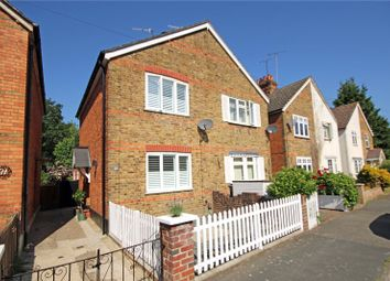 Thumbnail 2 bed semi-detached house for sale in Common Lane, New Haw, Surrey