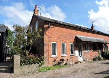 Thumbnail 2 bed semi-detached house for sale in The Square, Dennington, Woodbridge