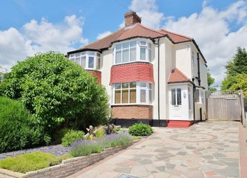 Thumbnail 3 bed semi-detached house for sale in Warren Drive, Chelsfield, Orpington