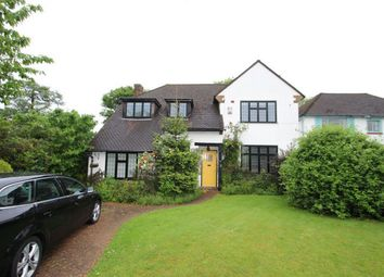 Thumbnail 5 bedroom detached house to rent in Crossway, Petts Wood, Orpington, Kent