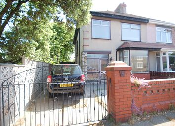 Thumbnail 3 bed semi-detached house to rent in Sandon Place, Blackpool, Lancashire