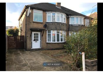 Thumbnail 3 bed semi-detached house to rent in Carr Manor View, Leeds