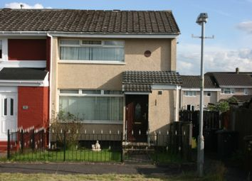 Thumbnail 2 bed end terrace house for sale in Dukes Road, Bargeddie, Baillieston, Glasgow
