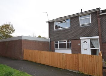 Thumbnail 3 bed terraced house for sale in Plemston Court, Rivacre, Ellesmere Port