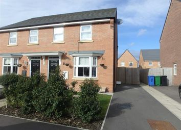 Thumbnail 3 bed semi-detached house for sale in Palmdale Gardens, Chapelford, Warrington, Cheshire