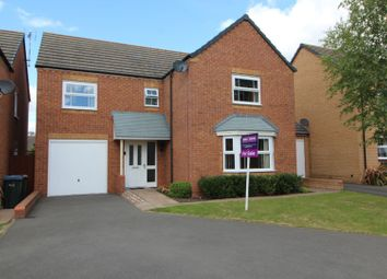 Thumbnail 4 bed detached house for sale in Lyons Drive, Coventry