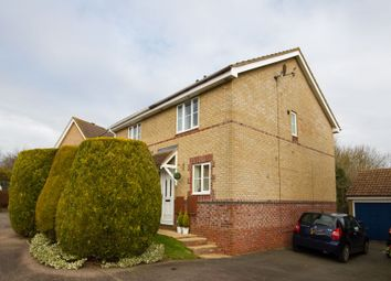Thumbnail 2 bed semi-detached house for sale in Nuffield Close, Brackley