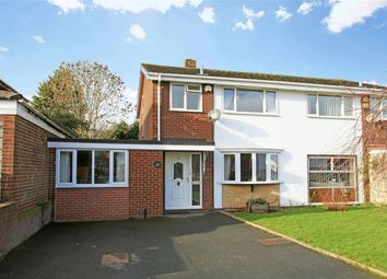 Thumbnail 4 bedroom semi-detached house for sale in 13 Claverley Drive, Stirchley, Telford
