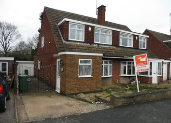Thumbnail 3 bedroom semi-detached house for sale in Packer Avenue, Leicester Forest East, Leicester