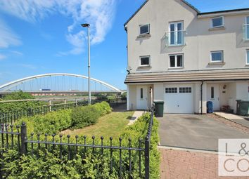 Thumbnail 4 bed town house to rent in Lysaght Avenue, Newport