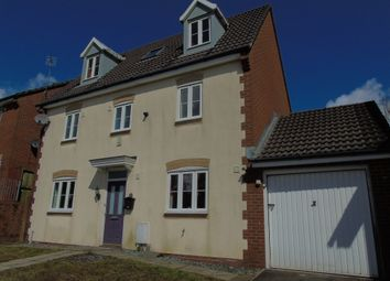 Thumbnail 5 bed detached house for sale in Larch Wood, Tonyrefail, Porth
