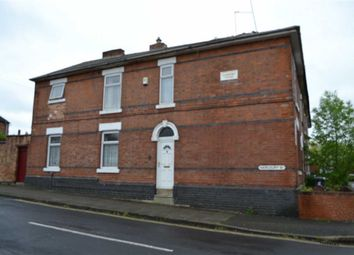 Thumbnail 1 bed end terrace house for sale in Harcourt Street, Derby