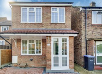 Thumbnail 3 bed detached house for sale in Ledger Drive, Addlestone