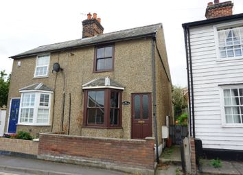 Thumbnail 2 bed semi-detached house for sale in Spring Road, Clacton-On-Sea