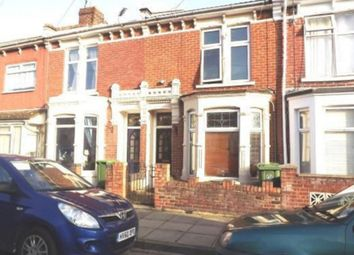 Thumbnail 3 bed terraced house to rent in Westbourne Road, Portsmouth