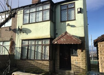 Thumbnail 3 bed end terrace house to rent in Curzon Road, Bradford