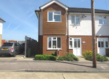 Thumbnail 3 bed semi-detached house for sale in Craven Gardens, Collier Row, Romford
