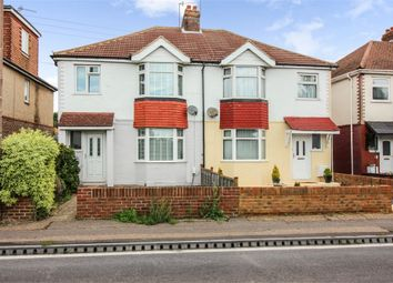 Thumbnail 3 bed semi-detached house for sale in Upper Brighton Road, Lancing, West Sussex