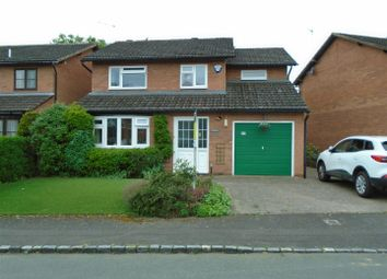 Thumbnail 4 bed detached house for sale in Foxley Grove, Bicton Heath, Shrewsbury