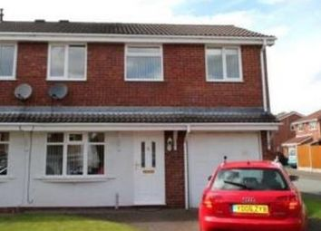 Thumbnail 3 bed semi-detached house for sale in Greenwood Park, Hednesford, Cannock, Staffordshire