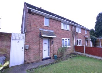 Thumbnail 1 bed flat to rent in Whitehouse Crescent, Wolverhampton