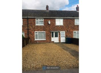 Thumbnail 3 bed terraced house to rent in Osborne Road, Wisbech