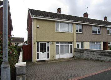 Thumbnail 2 bed semi-detached house for sale in Gwernfadog Road, Ynysforgan, Swansea, City And County Of Swansea.