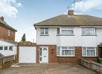 Thumbnail 3 bedroom semi-detached house for sale in Canesworde Road, Dunstable, Bedfordshire, England