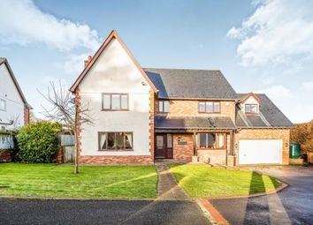 Thumbnail 4 bed detached house for sale in Druids Close, Gorsedd, Holywell, Flintshire