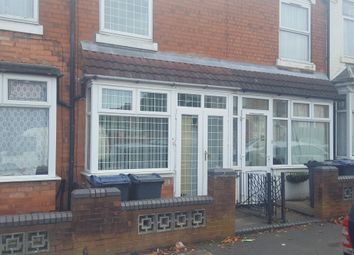 Thumbnail 3 bed terraced house for sale in Towyn Road, Birmingham