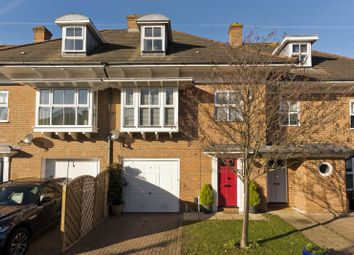 Thumbnail 4 bed town house for sale in Farnell Mews, Weybridge