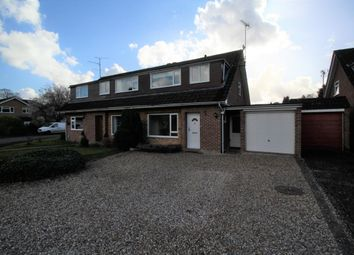 Thumbnail 3 bed semi-detached house to rent in Haywood Drive, Fleet