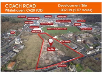 Thumbnail Land for sale in Coach Road, Development Site, Whitehaven