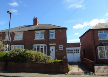 Thumbnail 3 bed semi-detached house for sale in High View, Wallsend