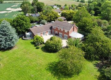 Thumbnail 6 bed equestrian property for sale in Harleston Road, Rushall, Diss