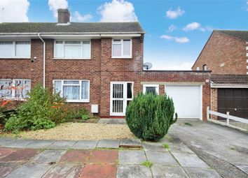 Thumbnail 3 bed semi-detached house for sale in Lansbury Drive, Stratton, Wiltshire