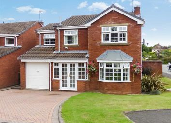 Thumbnail 4 bed detached house for sale in Diamond Grove, Cannock, Staffordshire