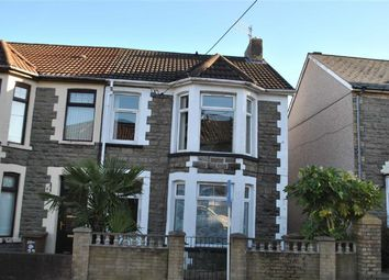 Thumbnail 3 bed semi-detached house for sale in Mcdonnell Road, Bargoed