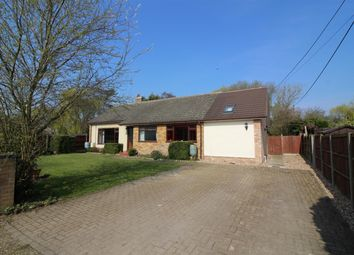 Thumbnail 3 bedroom detached bungalow for sale in Sunnyside Avenue, Poringland, Norwich