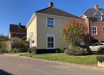 Thumbnail 4 bed detached house for sale in Cranesbill Drive, Bury St. Edmunds